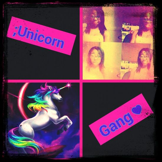#me #being #bored #explains#me #wit #noo #life #selfie #unicorn #gang ;** (: