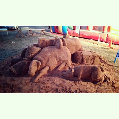 Some proper sand sculpture Sand