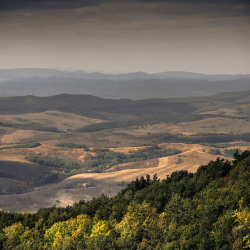 Beauty In Nature Bükk National Park Day Hungary Landscape Mountain Mountain Range Nature No People Outdoors Patchwork Landscape Rural Scene Scenics Sky Tranquil Scene Tranquility Travel Destinations Tree