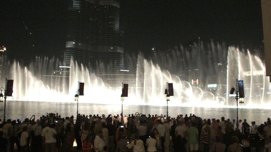 Stopping Time Dubai Water ;0