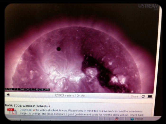 Venus Transit Science Observing Planets