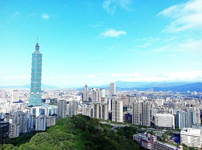 Taipei 101 morning Taiwan Taipei 101 Landscapes Taipei Life Morning Sky Enjoying Life Travel Hello World Popular Photo Mountain Hiking EyeEmNewHere