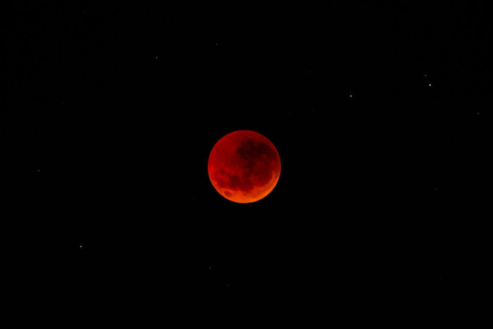 Blood Red Moon BloodMoonEclipse Bloodmoon2018 Astronomy Beauty In Nature Circle Copy Space Eclipse Full Moon Geometric Shape Moon Moon Surface Natural Phenomenon Nature Night No People Outdoors Planetary Moon Red Scenics - Nature Shape Sky Space Space And Astronomy Tranquil Scene Tranquility