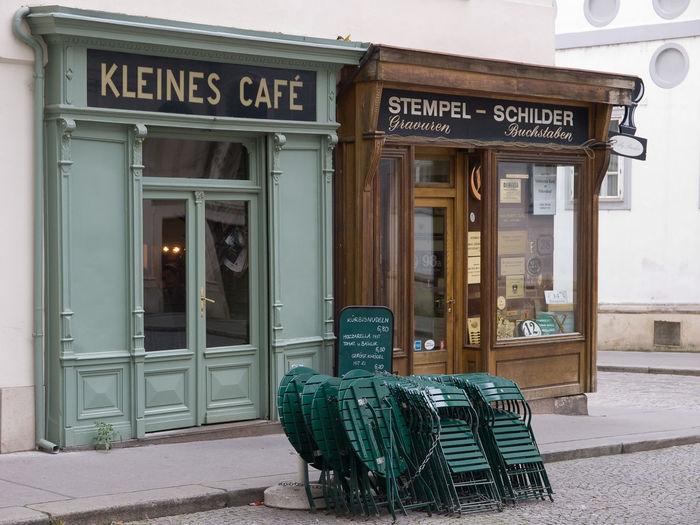 Kleines Café in