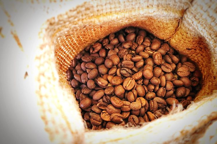 Coffee Beans Coffee Colic. ☕ Food And Drink Food Close-up No People Indoors  Freshness Day Roasted Coffee Bean Keeranadastudio