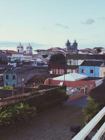 Pelourinho Building Exterior Architecture Built Structure City Outdoors Cityscape Down Sky Salvador