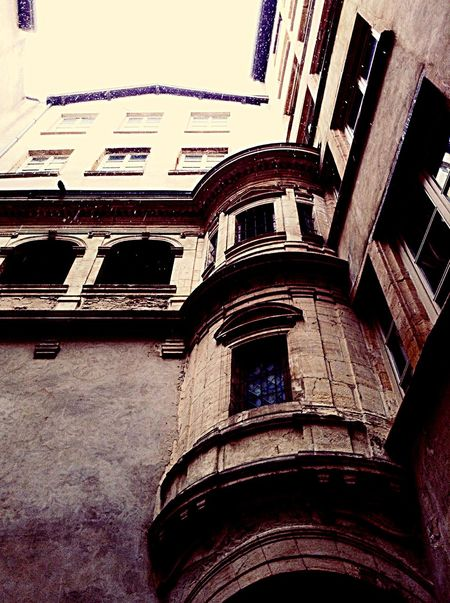 Trabules Arquitecture Perspective Urban Photography Cityscapes Snowing