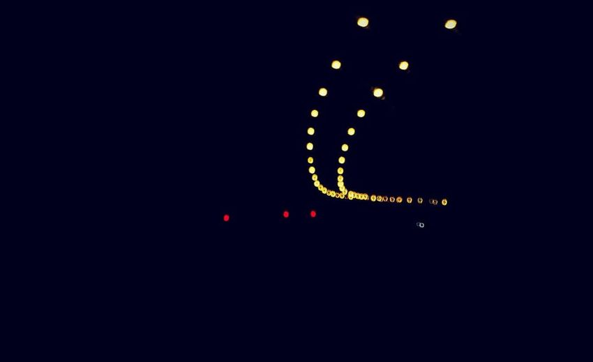 Street lights Illuminated City Neon Communication Close-up Sky