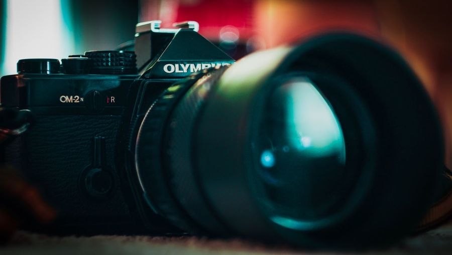 My fathers old camera 😍 Olympus OM2n Helios 44M-4 58mm 1:2 Photography Themes Camera - Photographic Equipment Lens - Optical Instrument Technology Digital Camera Photographic Equipment Camera Photographing Close-up No People SLR Camera Digital Single-lens Reflex Camera