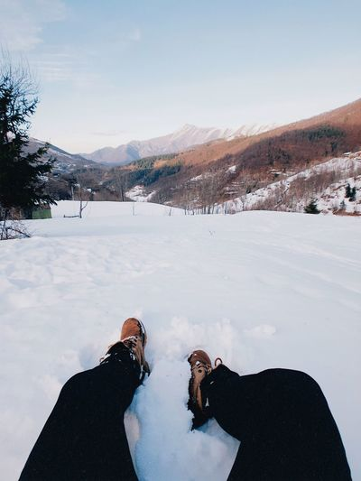 Where are you spending Christmas season? Mine is exactly here ⛄️ Christmas Snow Snow Cold Temperature Mountain Winter Scenics - Nature Beauty In Nature Moments Of Happiness Snowcapped Mountain Non-urban Scene Real People Lifestyles Covering Mountain Range Day Landscape Environment Tranquil Scene Nature Sky Tranquility