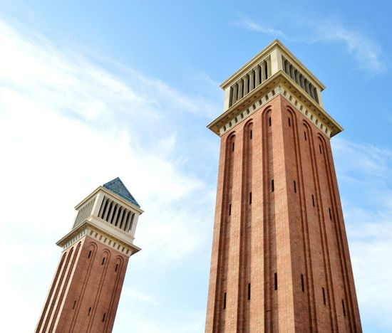 Feria de monjuic Politics And Government City Clock Clock Tower Government Architectural Column History Politics Tower Sky Bell Tower - Tower Lookout Tower Fortified Wall Doges Palace The Past Ancient Civilization King - Royal Person Ancient Rome St. Mark's Square Castle Fortress