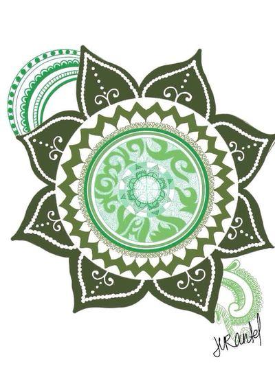 💚 The Vert. 💚 Green Mandala Freestyle
