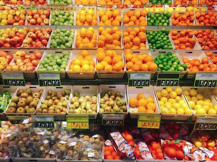 EyeEm Diversity Fruit Freshness Market Multi Colored Bright Colors For Sale Supermarket Fruits Variety