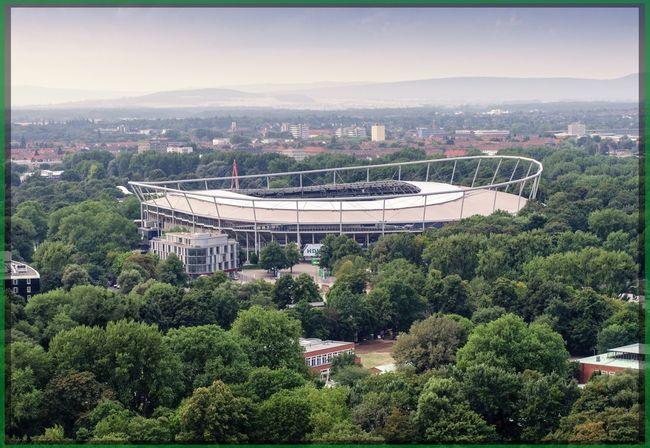 Hannover Fussball Stadion Nikon