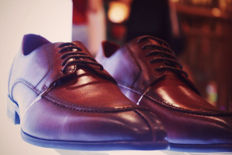 Pair Shoe Dress Shoe Brown Shoelace Close-up Menswear Footwear Leather Redefining Menswear British Culture