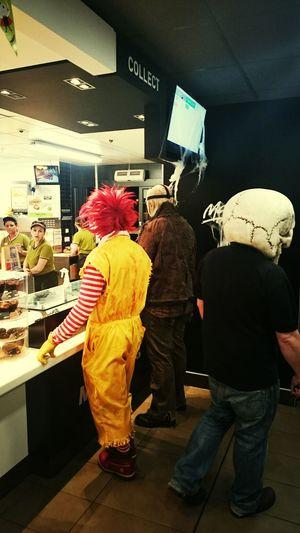 Bigmac,McDonald's Peoplephotography Halloween Halloween Horrors