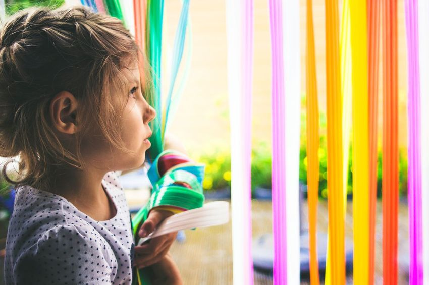 NEON LIFE| Child Multi Colored Curtain People Beauty Lifestyles Headshot Girls Beautiful People Childhood Close-up Portrait Portrait Photography Summer EyeEm Selects Life EyeEm Best Edits EyeEm Gallery EyeEm Best Shots Freshness Lightroom Nature Outdoors Day Neon Life Breathing Space