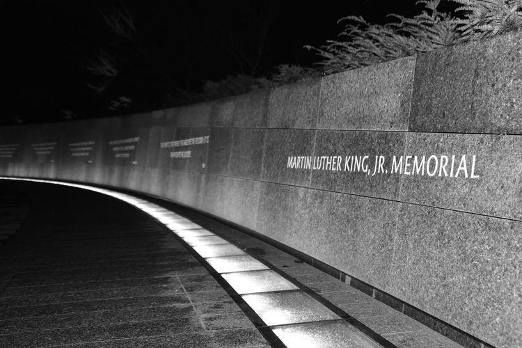 MLK JR was our light in the dark #blackandwhite #Memories #MLK #mlkjrmemorial #monochrome #nationalbestfriendday