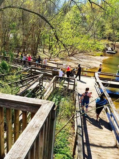 Glen Hilton Park Family❤ Walking Around Hanging Out Family Time Park - Man Made Space Enjoying Life Beautiful Day Beautiful Nature Springtime