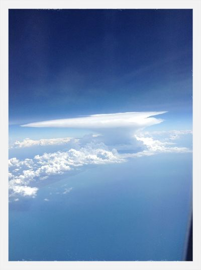 Cloud Art from 40000 feet above the ground, on my way to Singapore