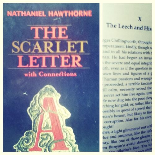 Been reading this book for a long time ^____^ #TheScarletLetter !