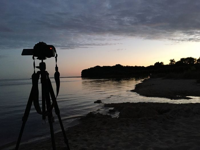 Taking Photos Taking Pictures Taking Photo Langzeitbelichtung Capture The Moment StillLifePhotography Idyllic Reflections In The Water Ocean View Landscape Still Life Idyllic Scenery Ocean Beach Reflections Camera Canon Canon 80D Canonphotography Evening Sky Evening Evening Light in Neuendorf Rügen Germany