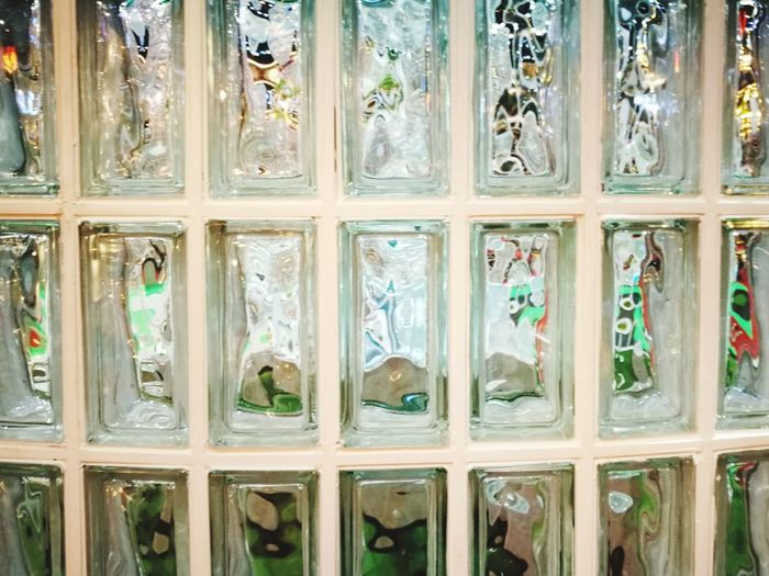 Wall Wall - Building Feature Wall Art Wall Decoration Glass - Material Glass Wall Glass Block Wall Glass Blocks Glass Bloc Full Frame Architecture Close-up Built Structure