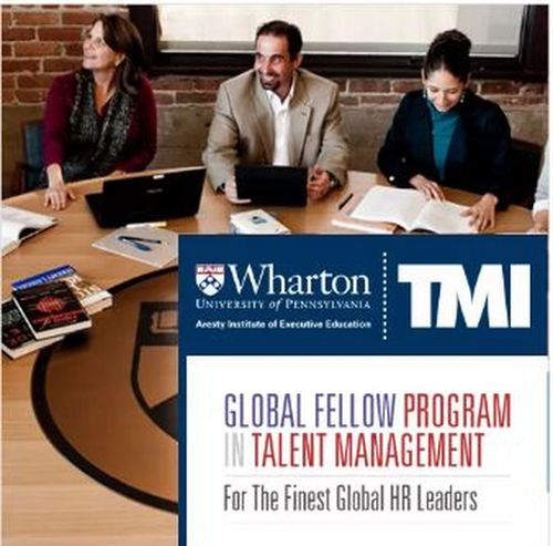 The Talent Management Institute presents you the most authentic TMI-Wharton Global Fellow program in talent management which is full of important wisdom, perspectives and insights senior professionals and academics with outstanding accomplishments in the field of talent and human resource management. https://www.tmi.org/tmi-wharton-programs/global-fellow-program-in-talent-management Wharton HR Certification Program Wharton HR Certification Programs International Hr Certification Wharton Fellowship Program