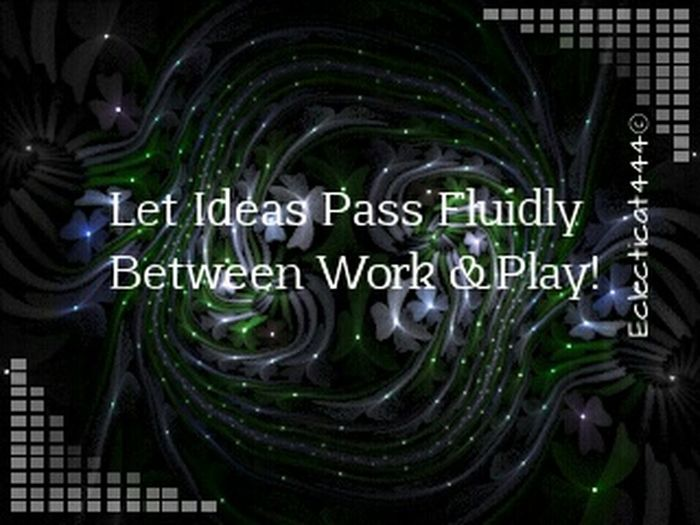 LOVE experimenting with fractals, and added a thought today - it's mid-week inspiration for me and I hope to inspire someone else! Creative Power Light Fractal Quotes Showyourwork