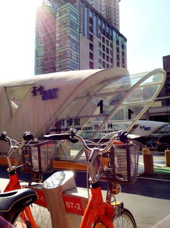 還是UBike好!? BRT Station Ubike