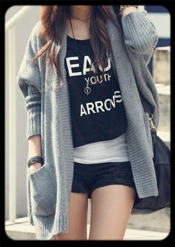 Fashion Girl Look