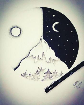 Sketch Pen Unipen Artstagram Arts Art Is Everywhere