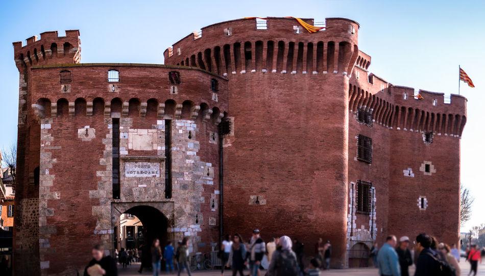 Architecture Building Exterior Built Structure Castillet Castillo Cultures Day Fitougraphie History Laurent Vankilsdonk Outdoors Tourism Travel Destinations