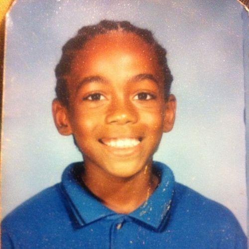 Elementary school, back when I had long hair. TBT  Braids Cornrolls Noeyewear