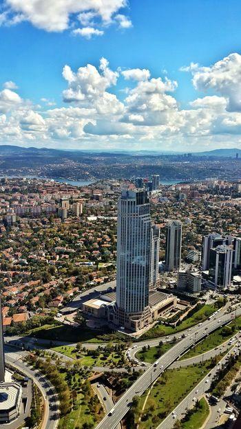 Istanbul Turkey Istanbul City Clouds Landscape