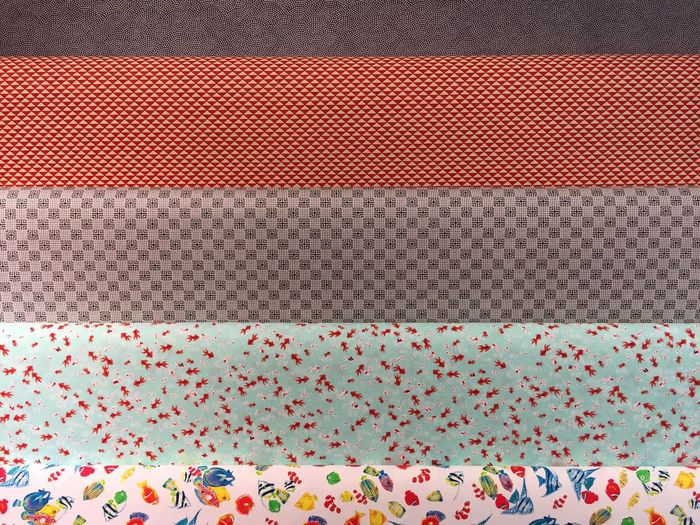 Full frame shot of multi color wrapping papers