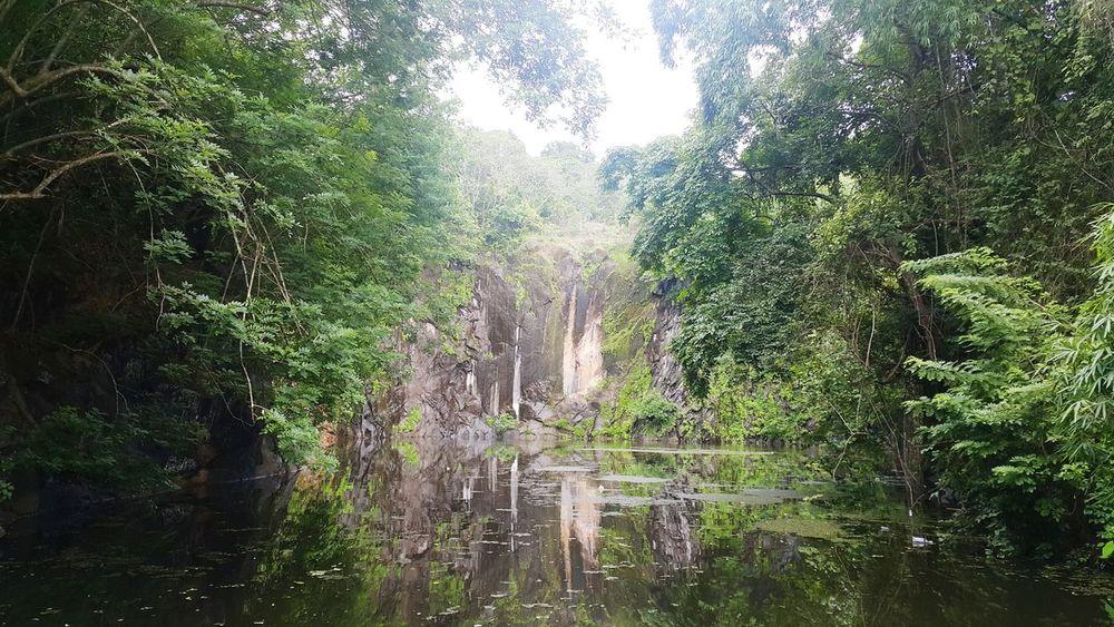 Nice View Amazing View Beautiful Nature Small World Water Water Reflections Waterfall Water Surface