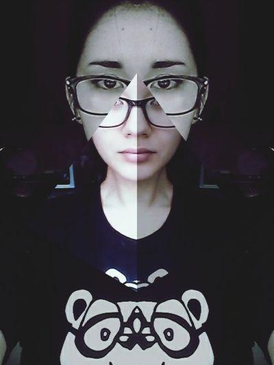 WTF!? D3lta Crazy That's Me Glasses Girl First Eyeem Photo Mirrorgram