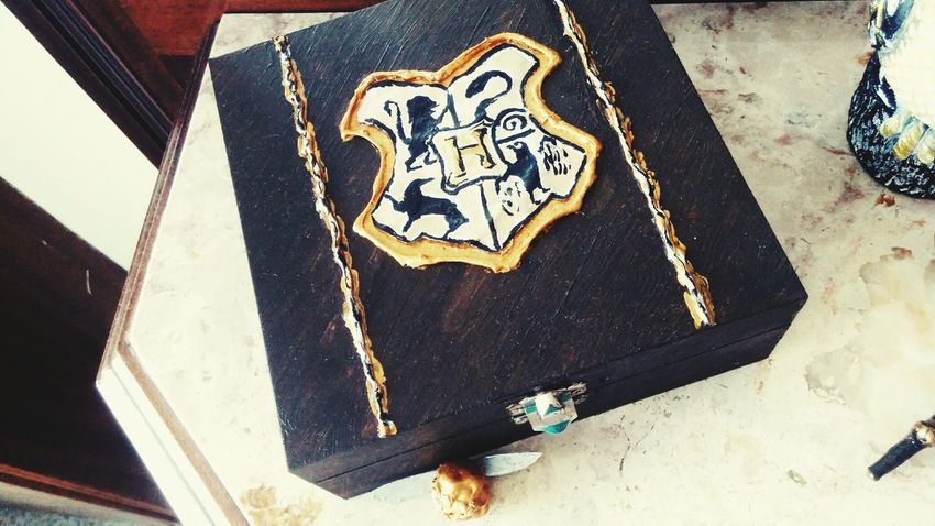 Magical Box DIY Hogwarts School Of Witchcraft And Wizardry Potter Pottery Passion Gryffindor Pride Slytherinhouse Hufflepuff Ravenclaw HP DIY At Home
