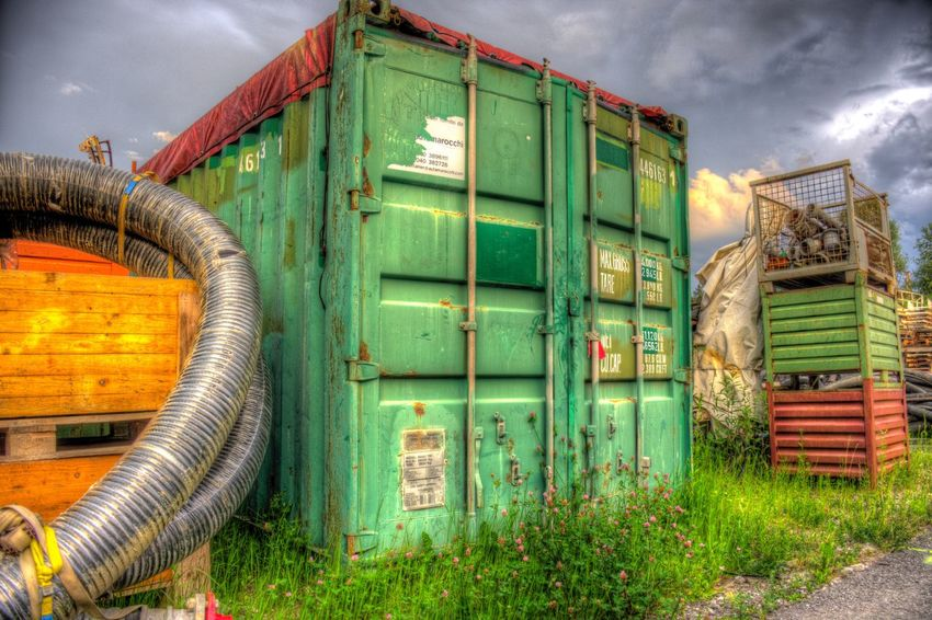 DDESIGN HDR PICTURE EyeEm Best Shots HDR First Eyeem Photo Architecture Green Color No People Nature Built Structure Sky Industry Outdoors Plant Metal Cloud - Sky Fuel And Power Generation Building Exterior Stack Day Container Grass Large Group Of Objects Factory Business EyeEmNewHere The Still Life Photographer - 2018 EyeEm Awards