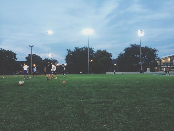 Escaping Excercising soccer