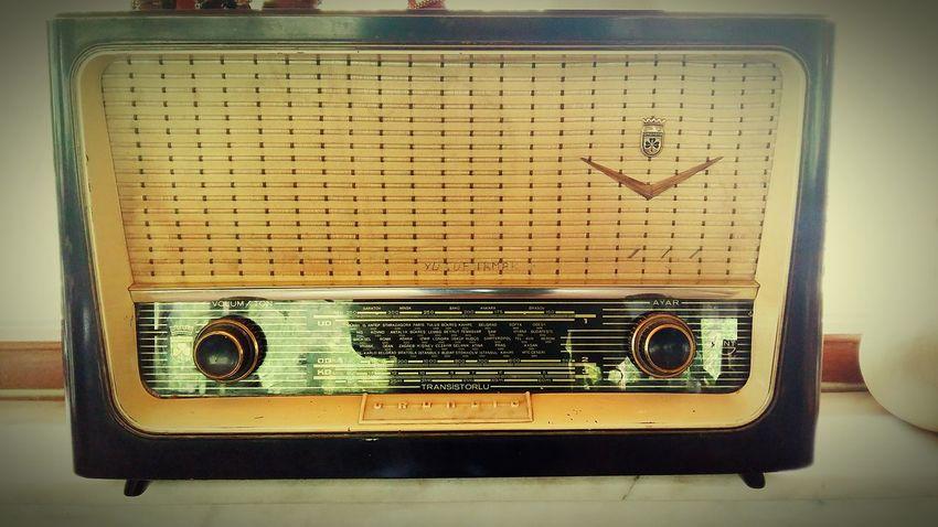 Music Radio Old History Nostalgia Antique No People Radio Grundig