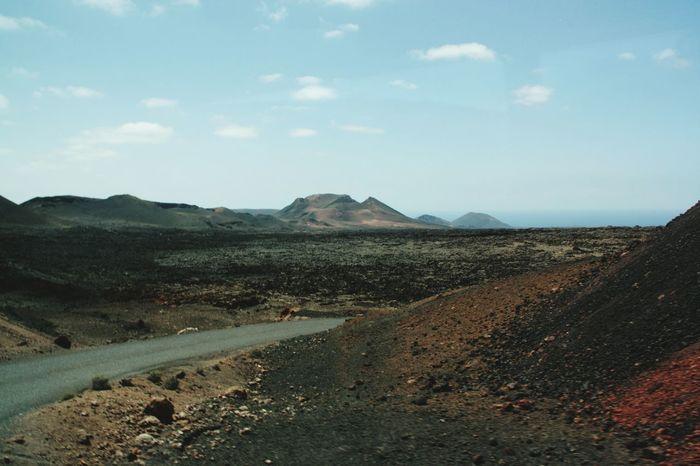 Landscape Nature No People Scenics Day Sky Crater Craters Volcanic Landscape Volcanic Island Travel Beauty In Nature Travel Destinations Lanzarote Volcano Timanfaya Volcanoes Nature