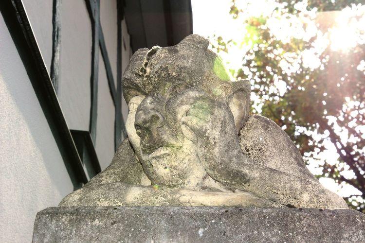 Statue Sculpture Tree Human Representation Close-up Sky Sculpted Historic Art