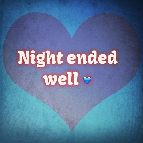 Nighty Night ✌