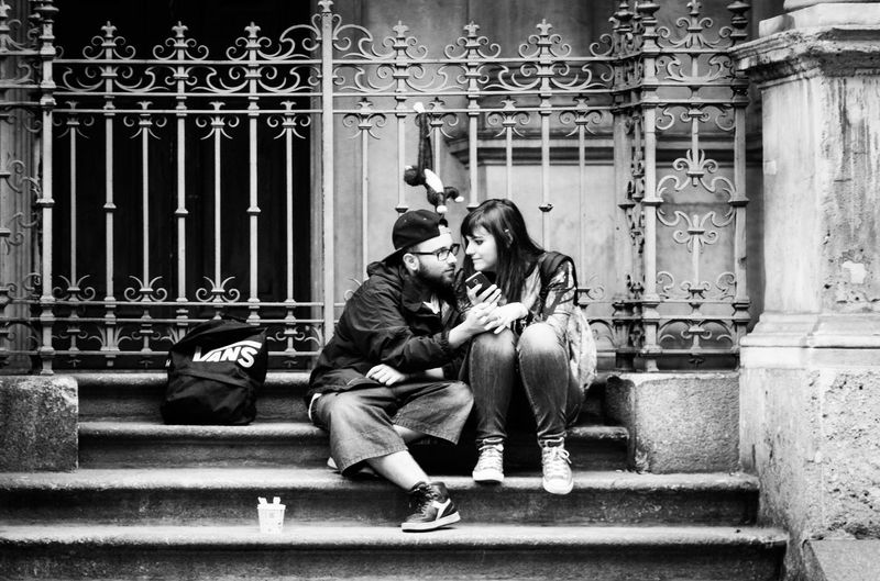 You i and the monkey Streetphotography Multiple Layers Black And White Streetphoto_bw Blackandwhite Milano Check This Out Hello World Taking Photos Hi!