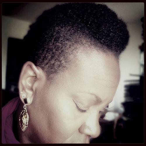 Selfie Lovemyhaircut Selfie ✌ Love my mohawk style hair! Absolute freedom!