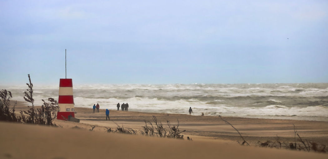 Sky Beach Sand