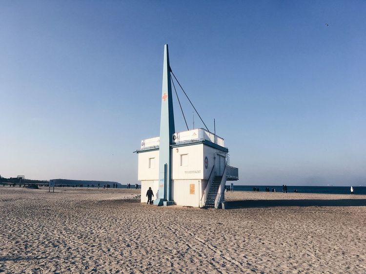 Winter Sun Beachphotography Beach Seascape Sea And Sky Sea Baltic Sea Ostseeküste Ostsee Warnemünde Wasserwacht Transportation