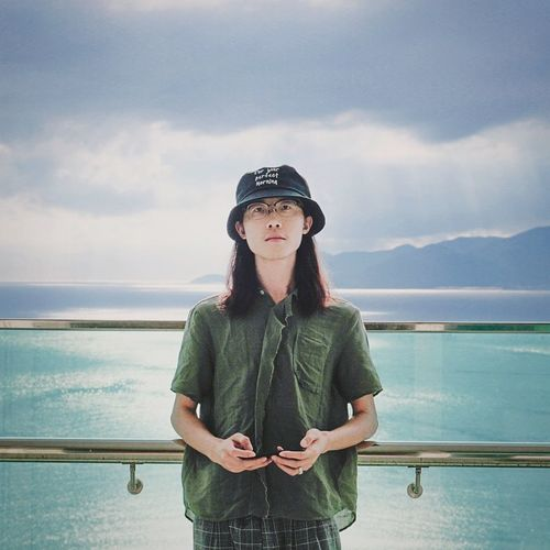 南国再见,南国 Nha Strang Vietnam Self Portrait Portrait Headwear Sea Standing Beach Relaxation